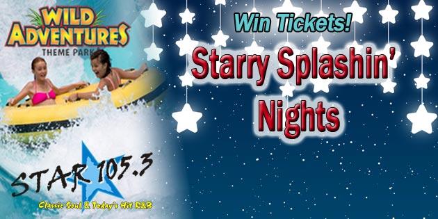 WIN TICKETS TO SPLASH ISLAND NIGHTS!
