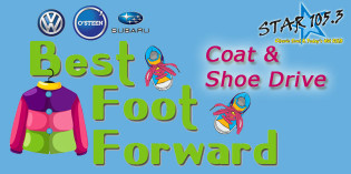 Osteen of Valdosta's Best Foot Forward Coats and Shoes Drive