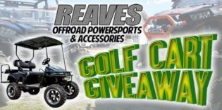 Reaves Powersports Golf Cart Giveaway