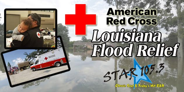 THE AMERICAN RED CROSS LOUISIANA FLOOD RELIEF