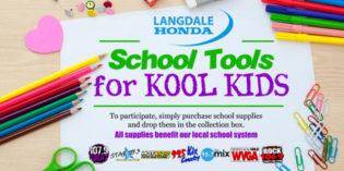 Langdale Honda School Tools for Kool Kids