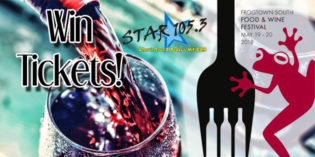 WIN TICKETS TO THE FROGTOWN WINERY FOOD AND WINE FEST!
