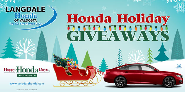 Langdale Honda Holiday Giveaways