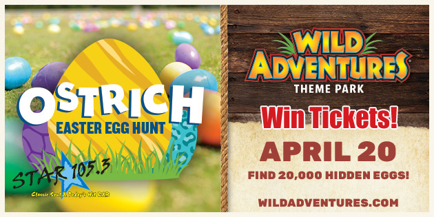 WIN TICKETS TO WILD ADVENTURES EASTER EGG HUNT