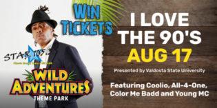 Win Tickets to Wild Adventures 90's concert!